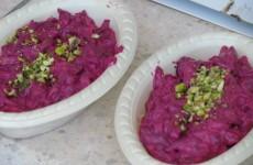 salada de beterraba com frutos secos