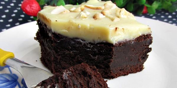 Brownie Dois Amores - é uma delicia.