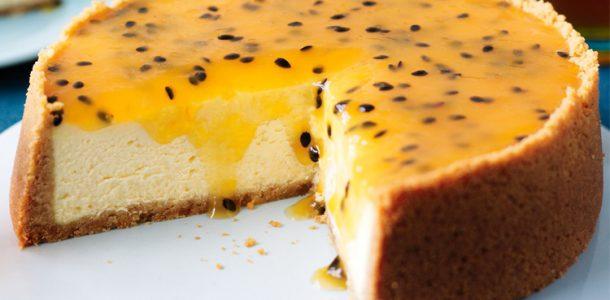 Cheesecake-Maracujá