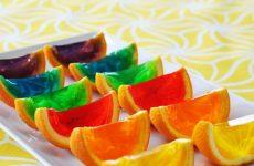 laranja e gelatina